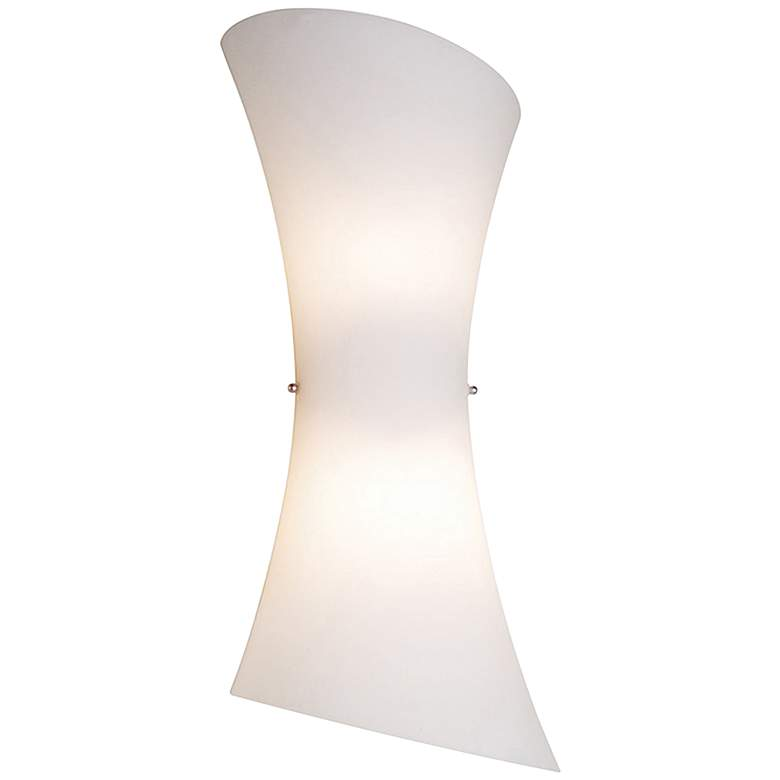 """Conico Collection 20"""" High Frost White Modern Wall Sconce"""