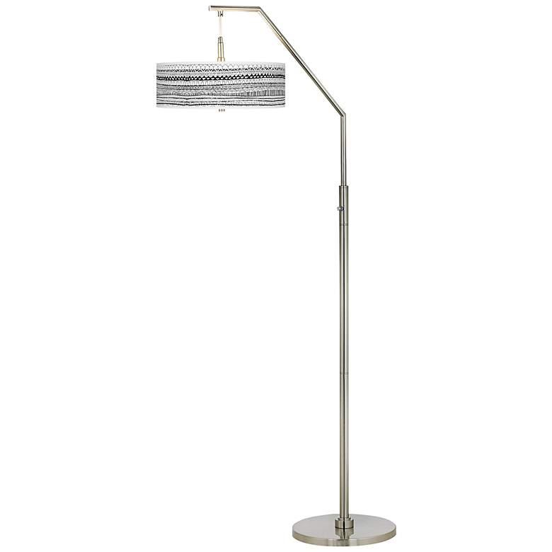 Mr. Kate Lines Black Arc Floor Lamp