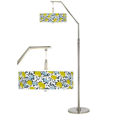 Seedling by thomaspaul Hedge Arc Floor Lamp