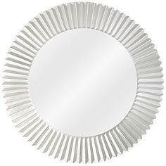 """Bezel Trim Round 30"""" Wide Wall Mirror"""