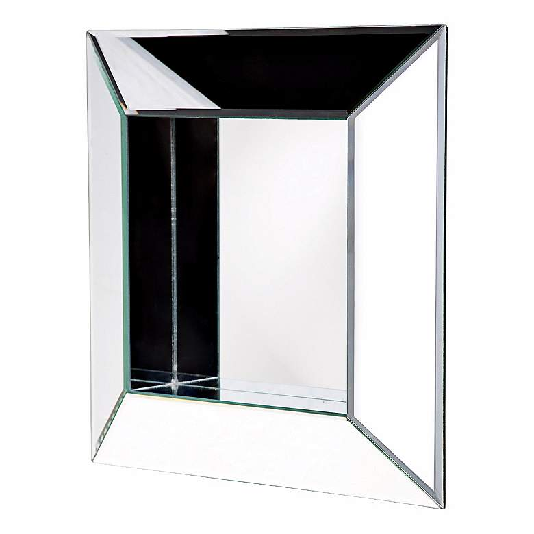 """Picture Frame Square 20"""" Wide Wall Mirror"""