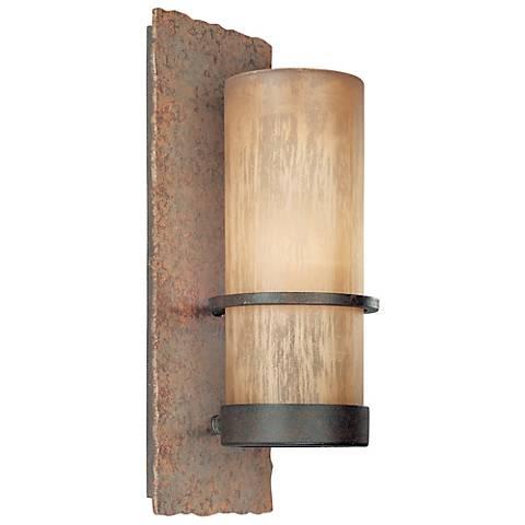 "Jabandi 14"" High Indoor-Outdoor Energy Efficient Wall Light"