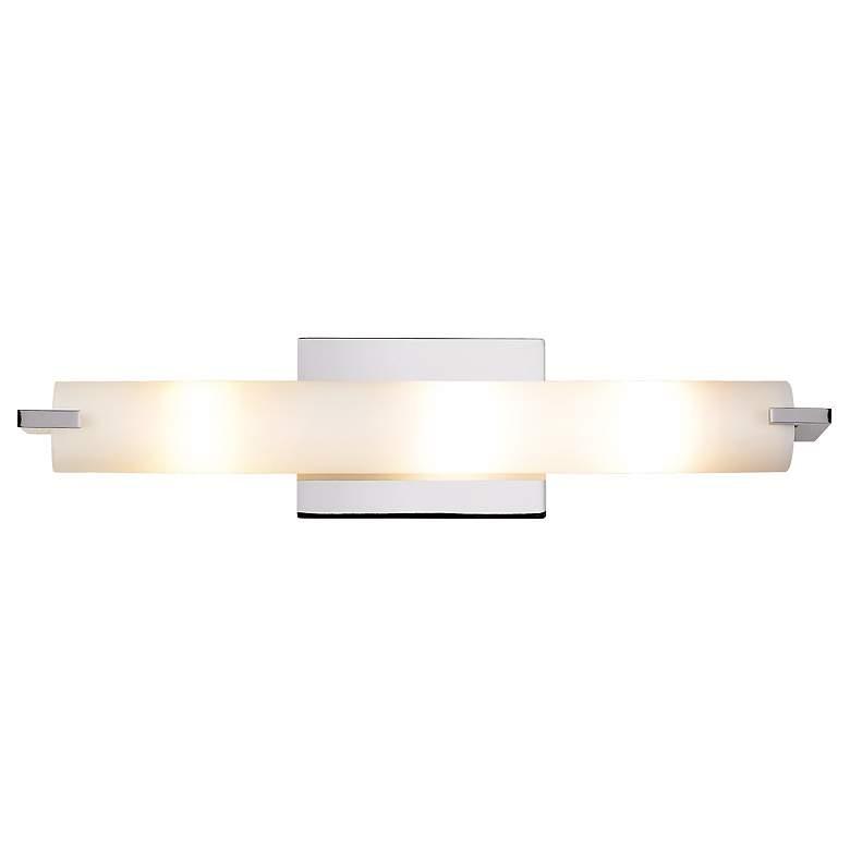 "George Kovacs Chrome 20 1/2"" Wide ADA Bathroom Light"