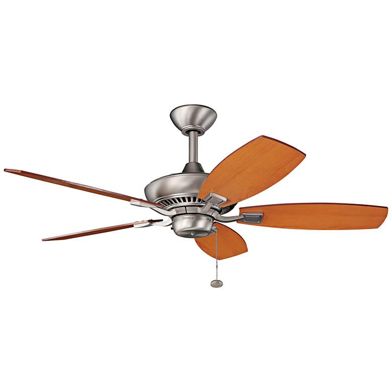 """44"""" Kichler Canfield Brushed Nickel Ceiling Fan"""