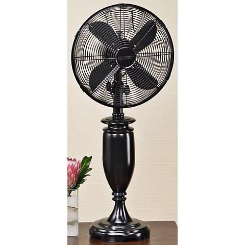"""Blackwood 30 1/2""""  High Tabletop Fan"""