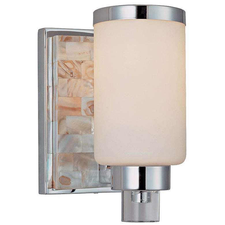 "Cashelmara Collection 8 1/4"" High Chrome Wall Sconce"