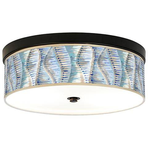 Siren Giclee Energy Efficient Bronze Ceiling Light