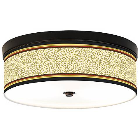 Stacy Garcia Spice Dahlia CFL Bronze Ceiling Light
