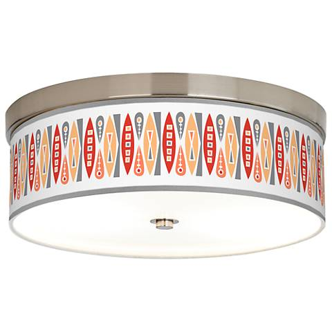 Vernaculis VI Giclee Energy Efficient Ceiling Light