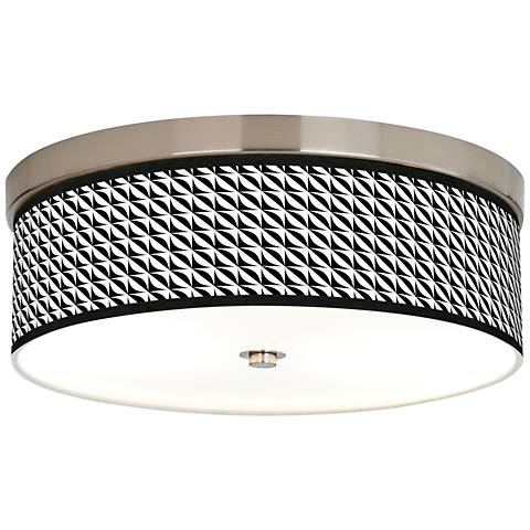 Waves Giclee Energy Efficient Ceiling Light
