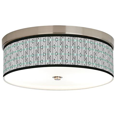 Indigenous Giclee Energy Efficient Ceiling Light