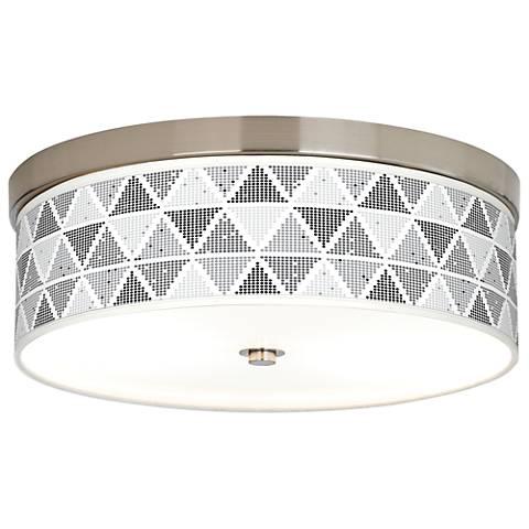Pointillism Giclee Energy Efficient Ceiling Light