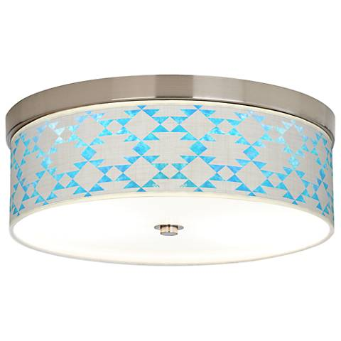 Desert Aquatic Giclee Energy Efficient Ceiling Light