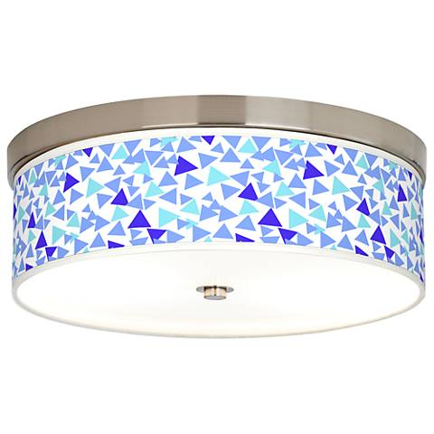 Geo Confetti Giclee Energy Efficient Ceiling Light