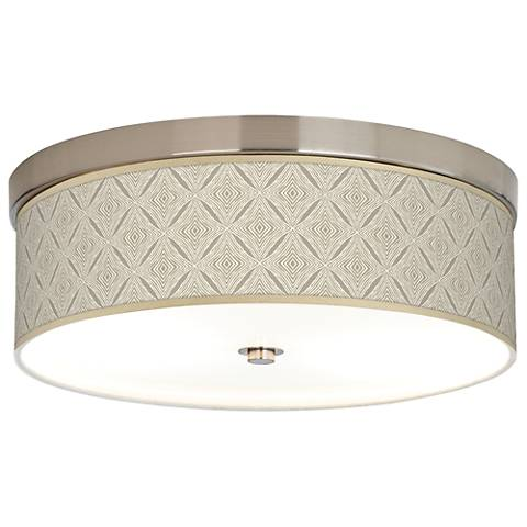 Moroccan Diamonds Giclee Energy Efficient Ceiling Light