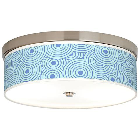 Circle Daze Giclee Energy Efficient Ceiling Light