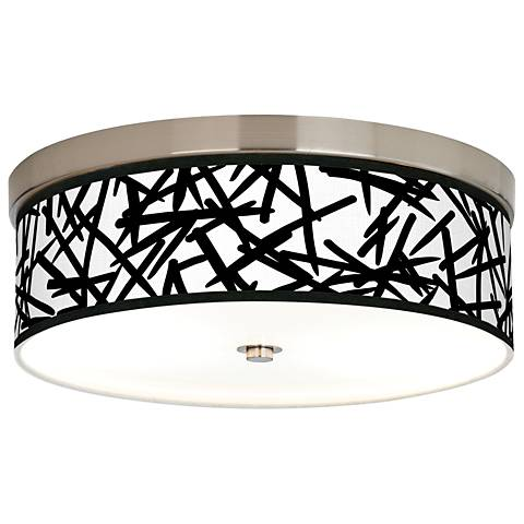 Sketchy Giclee Energy Efficient Ceiling Light