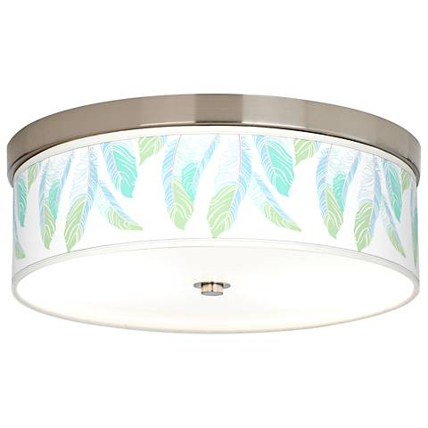 Light as a Feather Giclee Energy Efficient Ceiling Light