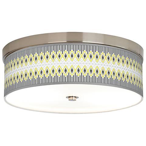 Desert Geometric Giclee Energy Efficient Ceiling Light