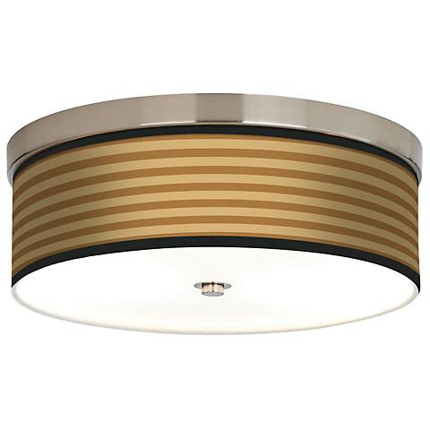 Butterscotch Parallels Giclee Energy Efficient Ceiling Light