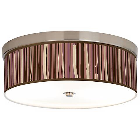 Kalahari Lines Giclee Energy Efficient Ceiling Light
