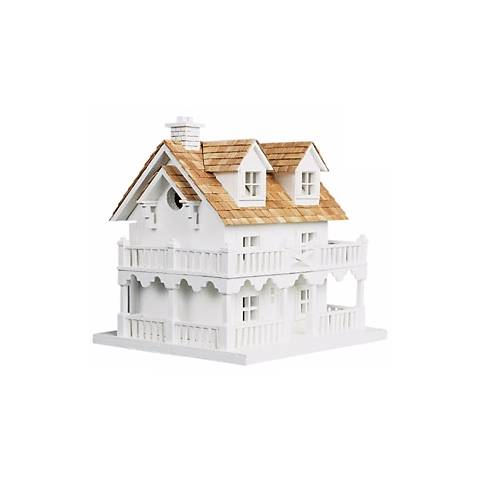Two Story Cedar Roof Bird House