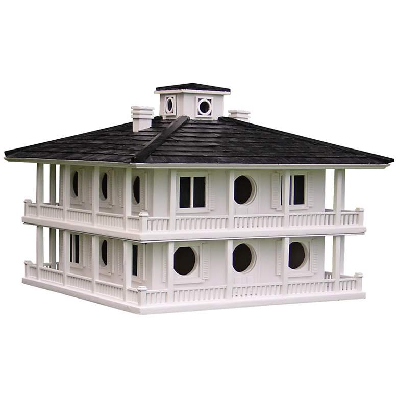"Large Southern Club House 21"" Wide Bird House"