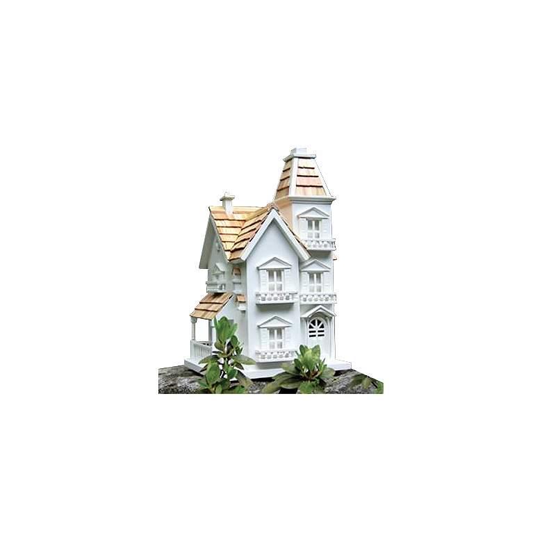 Victorian Cedar Roof Bird House