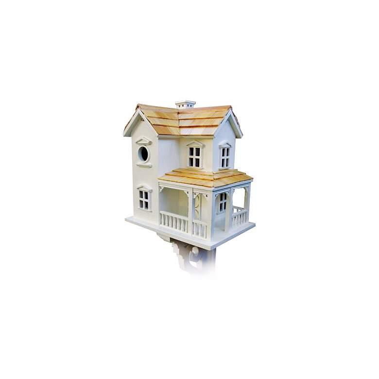 """Cozy Two-Story 12"""" High Farmhouse Bird House"""
