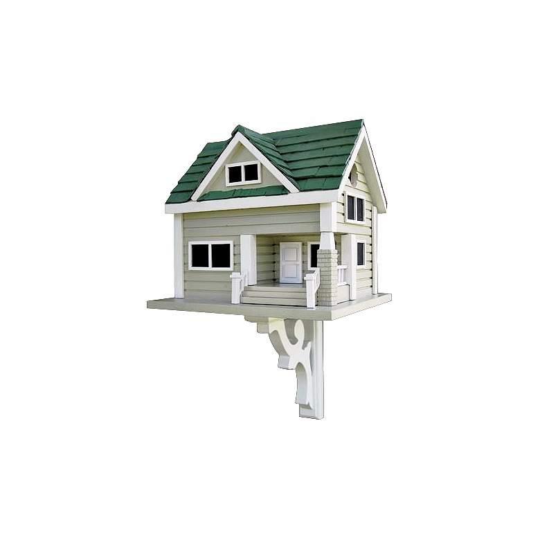 Green Roof Bungalow Bird House
