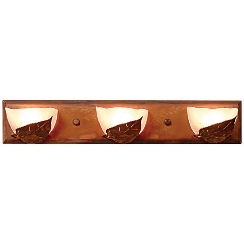 "Logen Collection Aspen 24"" Wide Bathroom Light Fixture"