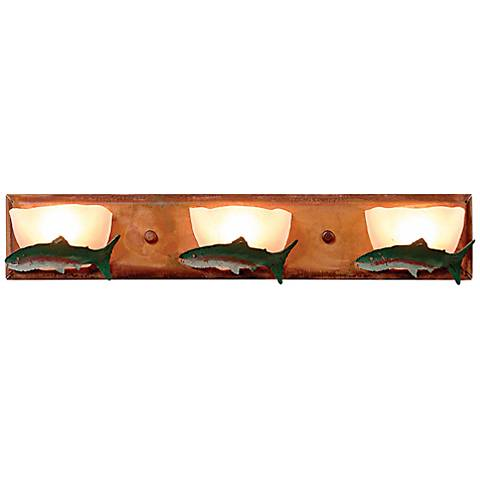 "Logen Collection Trout 24"" Wide Bathroom Light Fixture"