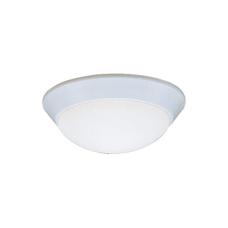 """Kichler Etched Glass Dome White 10"""" Wide Ceiling Light"""