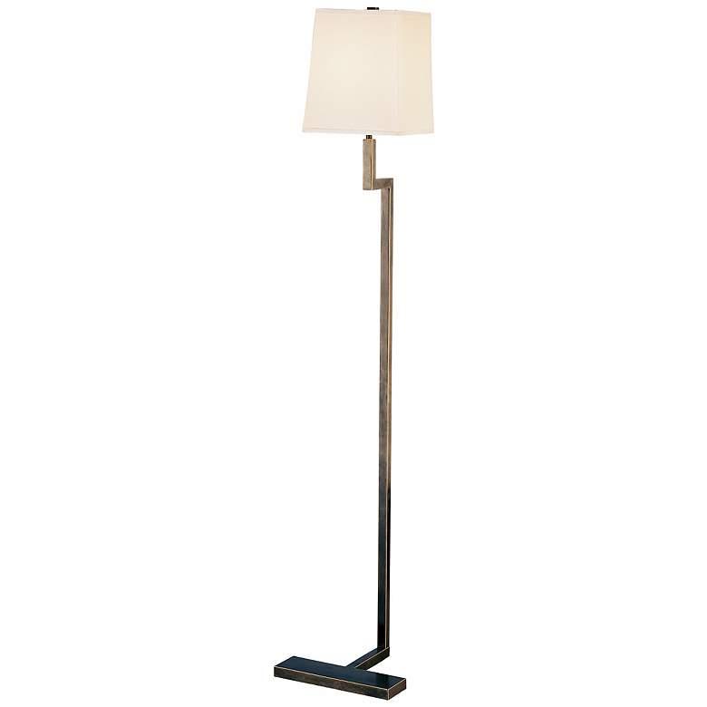 """Robert Abbey 48 3/4"""" High Doughnut Bronze Floor Lamp"""