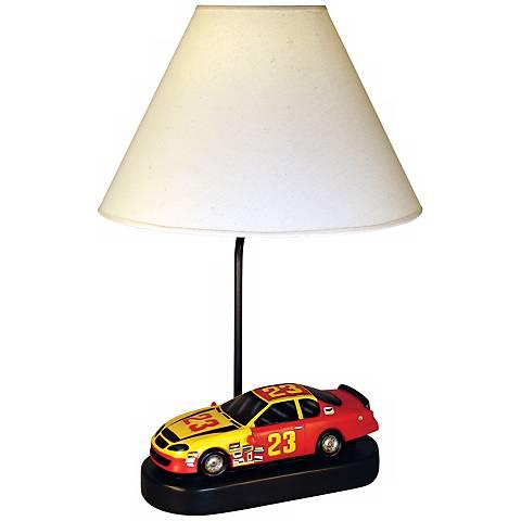 "Race Car 20"" High Accent Table Lamp"