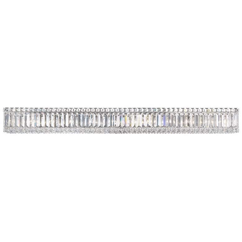 "Schonbek Quantum Spectra Crystal 47"" Wide Bathroom Light"