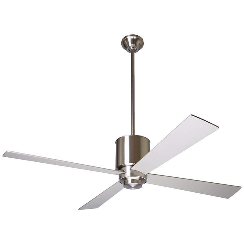 """50"""" Modern Fan Lapa Bright Nickel Ceiling Fan"""