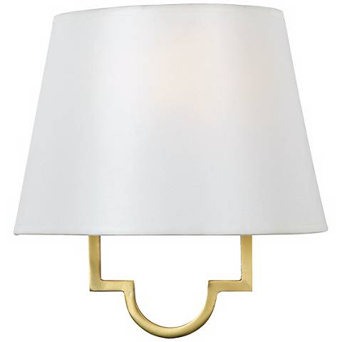 "Millennium Collection Gold 10"" High Wall Sconce"
