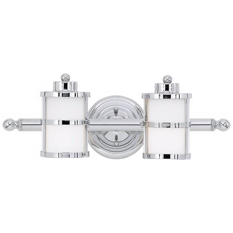 """Tranquil Bay Collection 18"""" Wide Bathroom Light Fixture"""