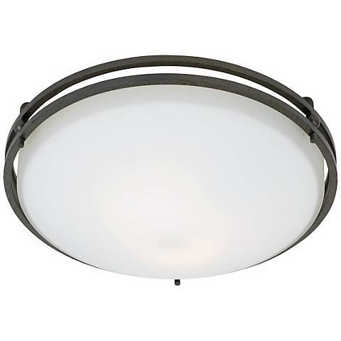 "Ozark Collection 12 1/2"" Wide Ceiling Light Fixture"