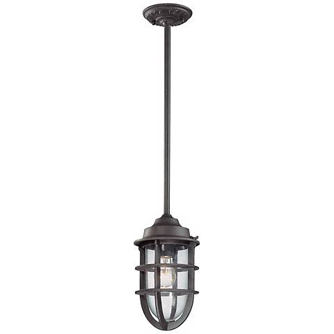 "Wilmington Collection 12"" High Outdoor Hanging Light"