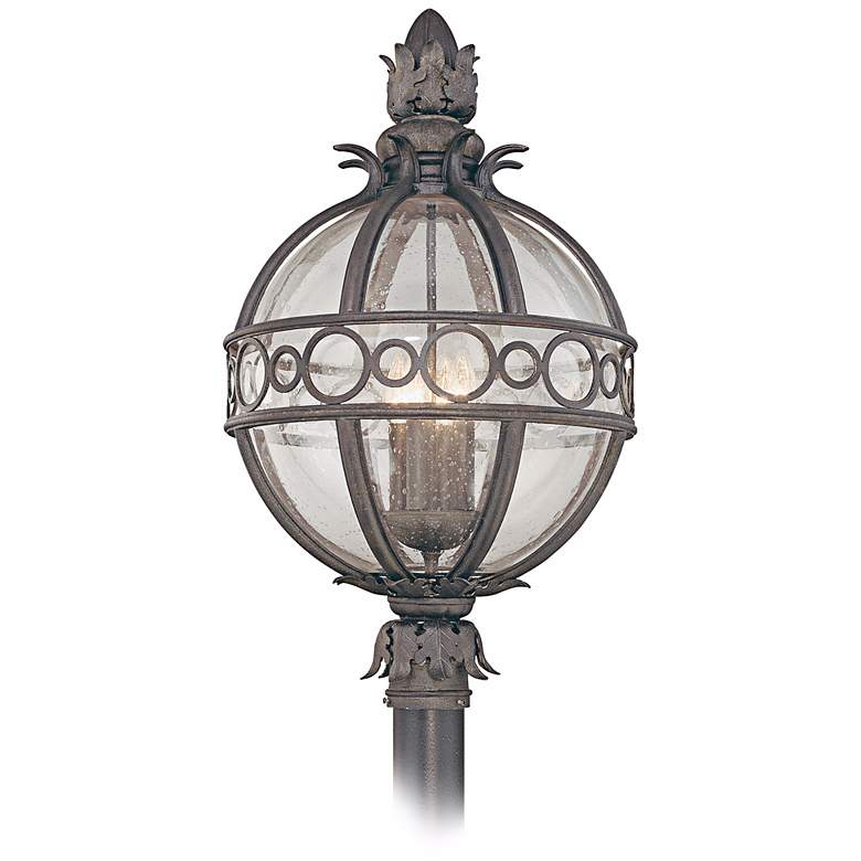 """Campanile Collection 28"""" High Outdoor Post Light"""
