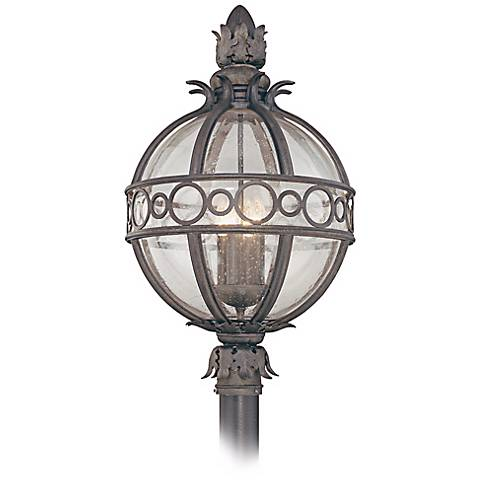 "Campanile Collection 28"" High Outdoor Post Light"