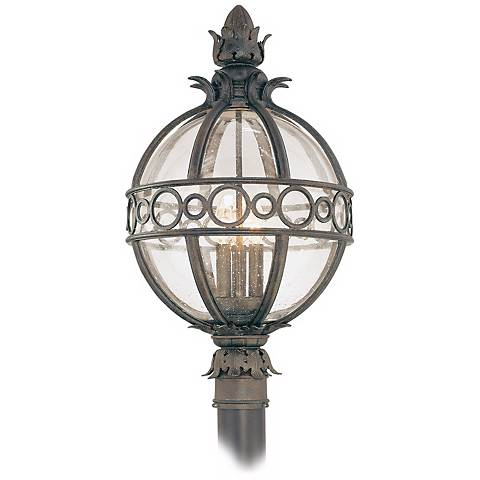 "Campanile Collection 24"" High Outdoor Post Light"