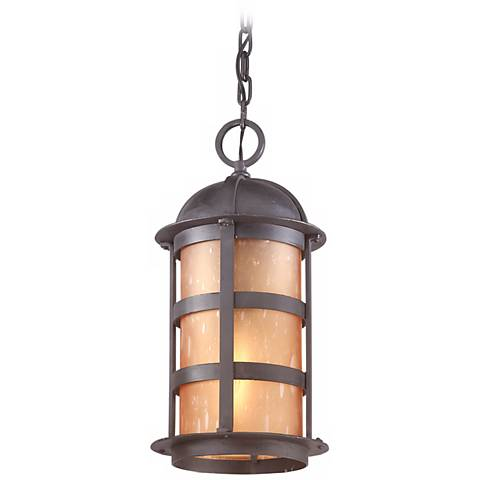 "Aspen Collection 17 1/2"" High Outdoor Hanging Light"