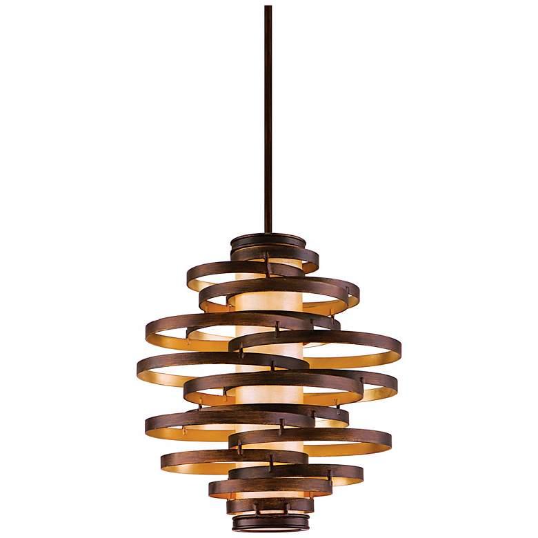 """Corbett Vertigo 23"""" Wide Contemporary Pendant Light"""