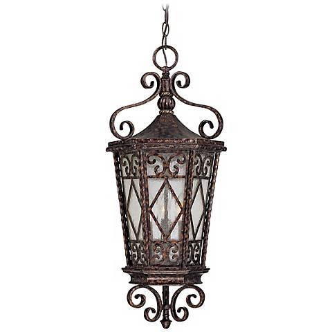 """Felicity Collection 29 1/4"""" High Outdoor Hanging Light"""