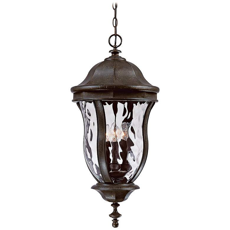 "Monticello Collection 24"" High Outdoor Hanging Light"