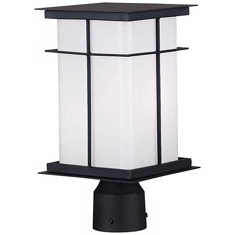 "Mesa ENERGY STAR® 14"" High Outdoor Post Light"