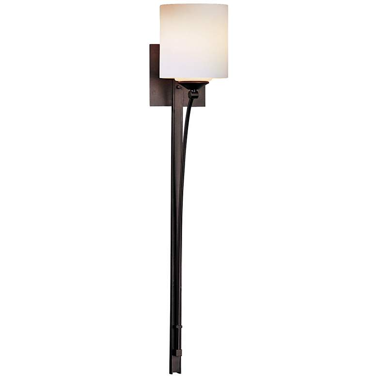 """Formae Contemporary Opal Glass 29 1/2"""" High Wall Sconce"""